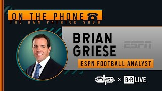 ESPN's Brian Griese Talks Tua Injury, Chiefs vs Chargers & More with Dan Patrick | Full Interview