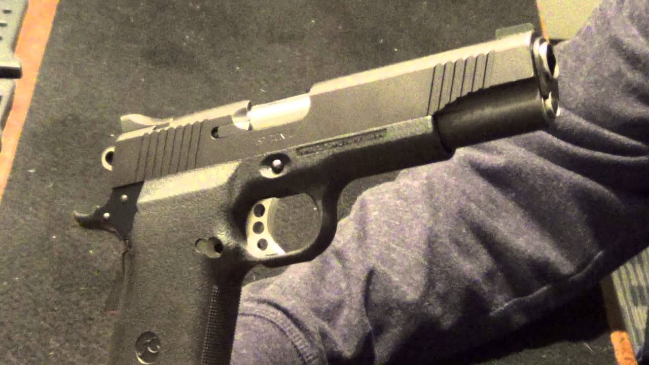 Kimber BP Ten II - YouTube