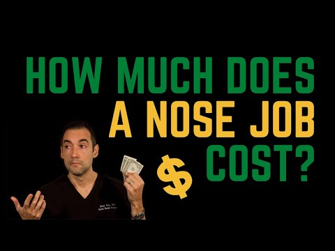 How much does a nose job cost? A plastic surgeon explains