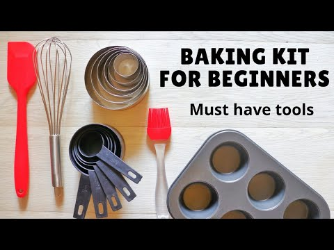 Baking Equipment For Beginners | 25+ Baking Tools That You Must Have (Eng Subtitles)