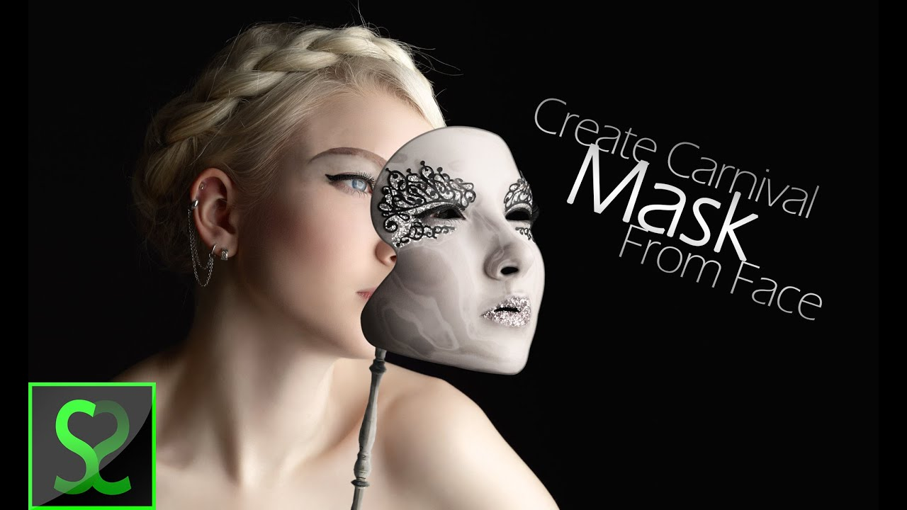 Create amazing carnival mask from face | Photo