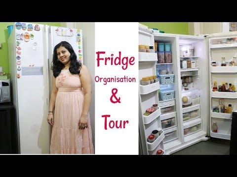 Indian Fridge Organization Ideas, Tips & Tour   How To Organize Refrigerator   Maitreyee's Passion