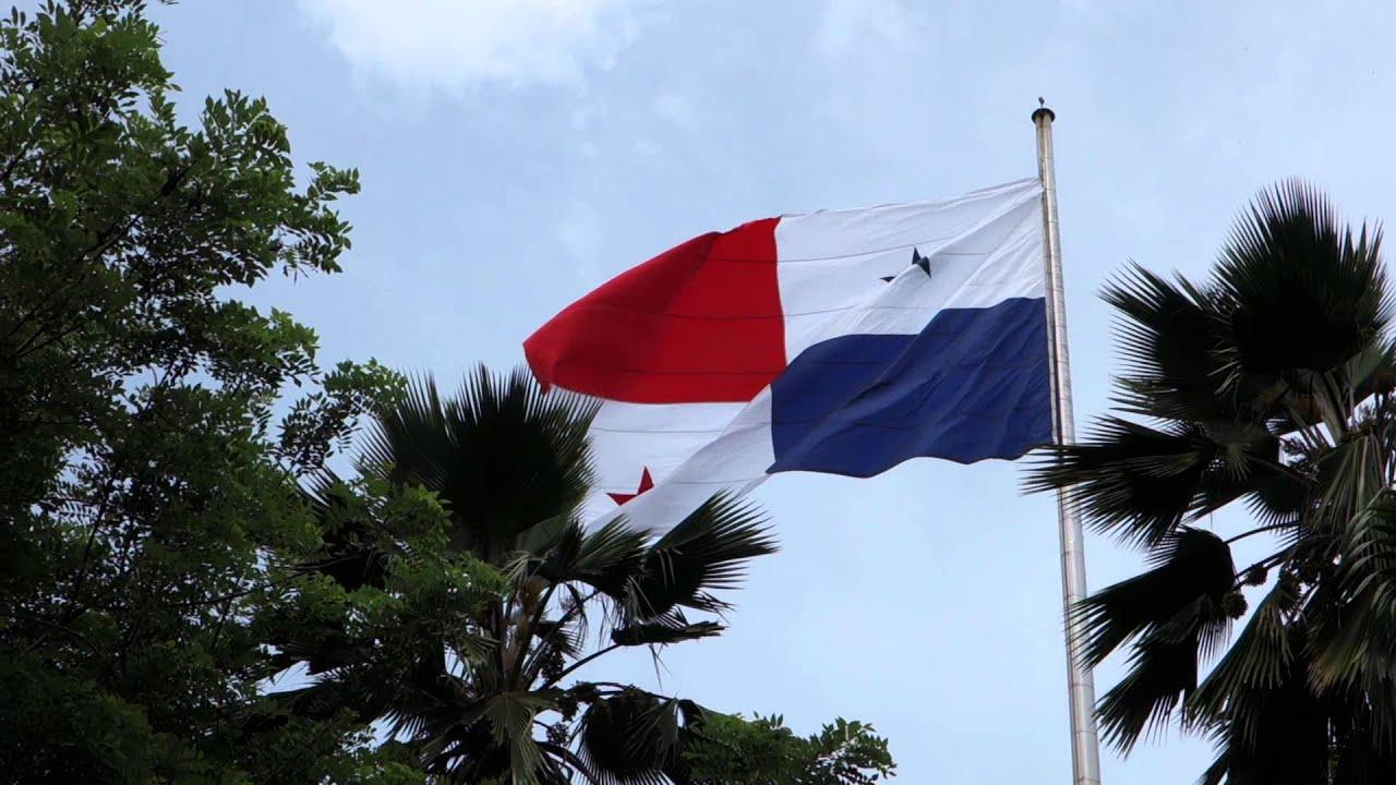 Panama Flag In Panama City Hill YouTube - Panama flag