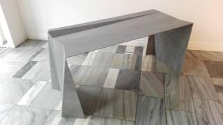 Granithin - The thinnest granite desk .