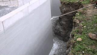 Waterproofing Foundation Wall + Foundation Coating + Basement Waterproofing + Deco Seal