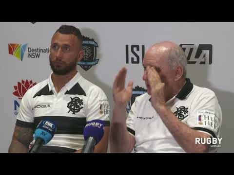 Post match press conference: Barbarians