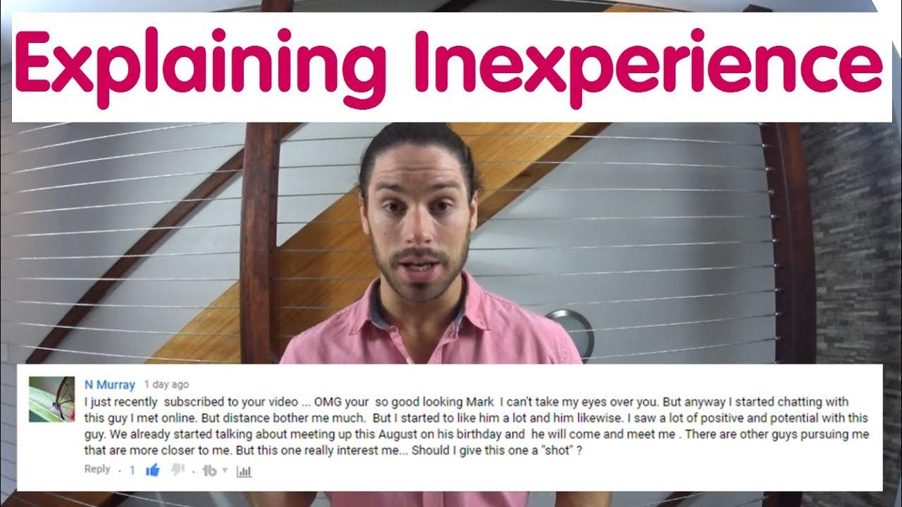dating inexperienced guy