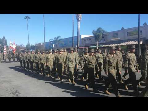 Fontana High School JROTC Fontana Christmas Parade