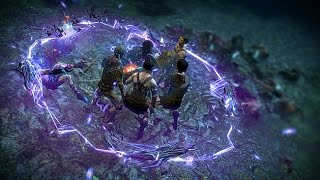 Path of Exile: Rift Worm Shock Nova