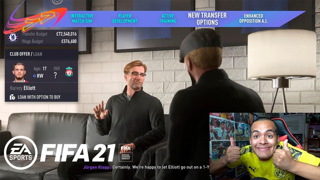 ASÍ ES EL NUEVO MODO CARRERA EN FIFA 21 *Impecable*