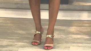 Marc Fisher Multi-strap Mule Sandals - Joy with Amy Stran