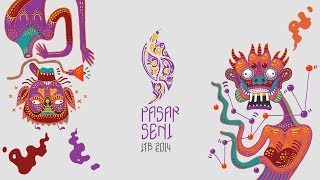 Pandji, Lazy P, & Candil Seurieus- Pasar Seni ITB 2014 [Video Lyric Mars Pasar Seni]