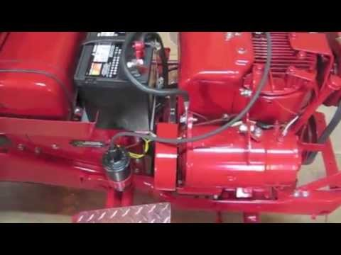 5 gilson tractor restoration how to wire the coil and points rh youtube com