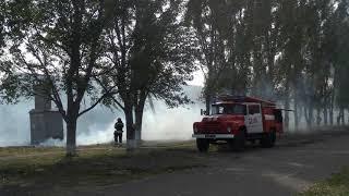 Беловодские пожежники зупинили страшний пожежа