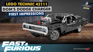 LEGO Technic 42111 Fast & Furious Dom's Dodge Charger - detailed preview