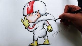 Como Desenhar o Kick Buttowski - (How to Draw Kick Buttowski) - REMAKE#01