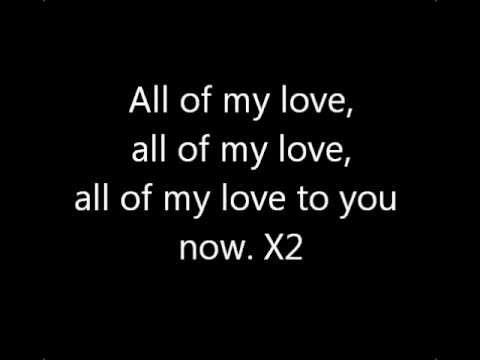 Led Zeppelin - All of My Love lyrics