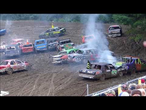 Grand Rapids Speedway Enduro-Fair 2017-First Segment of 100 Laps