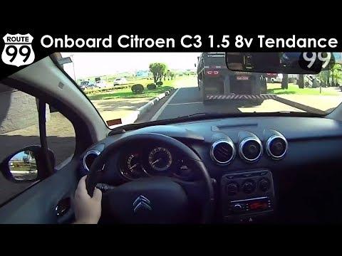 CITROEN C3 1.5 8V TENDANCE - Avaliação Onboard