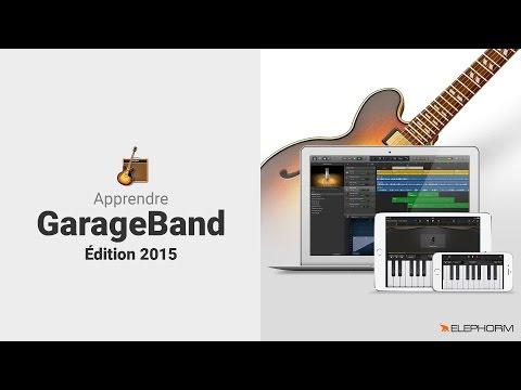 "Formation vidéo ""Apprendre GarageBand - Edition 2015"" avec Elephorm"