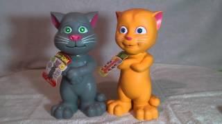 Говорящий Кот Том и его подружка Джинжер
