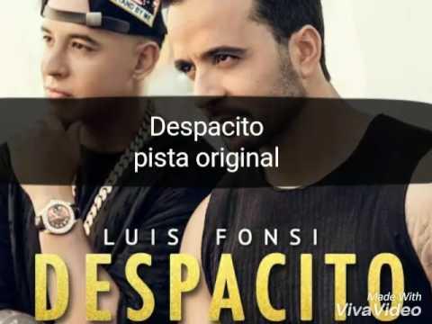 Pista original - Despacito - luis fonsi ft Daddy Yankee (karaoke)