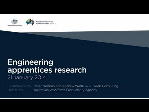 Engineering apprentices presentation