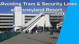 Disneyland Tips: How to Avoid Long Tram & Security Lines