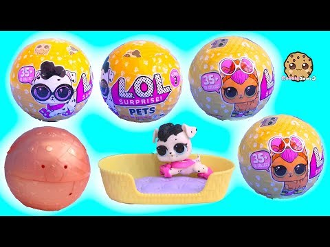 LOL Surprise Pets Wave 2 Series 3 Cats + Dogs Blind Bag Toys - Cookie Swirl C