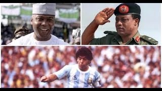 Opinion: Olubukola Saraki: The return of Maradona (IBB)!