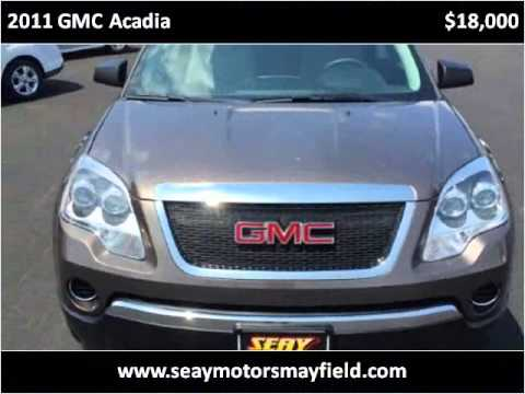 2011 gmc acadia used cars mayfield ky youtube for Seay motors mayfield ky