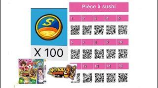 Yo Kai Watch 1 Qr Codes Pieces 5 Etoiles