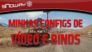 PUBG DICAS | MINHAS CONFIGS IN GAME (VÍDEO E BINDS)