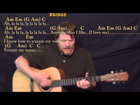 how to love guitar chords without capo