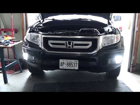 hqdefault ridgeline led drl install youtube  at eliteediting.co