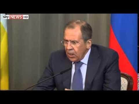 Russia Accuses Kiev Of 'Violating' Geneva Deal