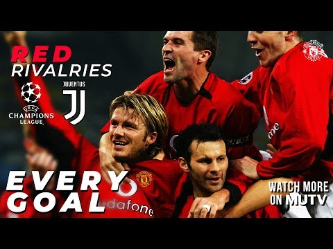 Red Rivalries: All the UCL Goals v Juventus | Manchester United | Watch more on MUTV