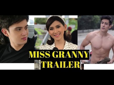 MISS GRANNY Trailer starring Sarah Geronimo, James Reid and Xian Lim