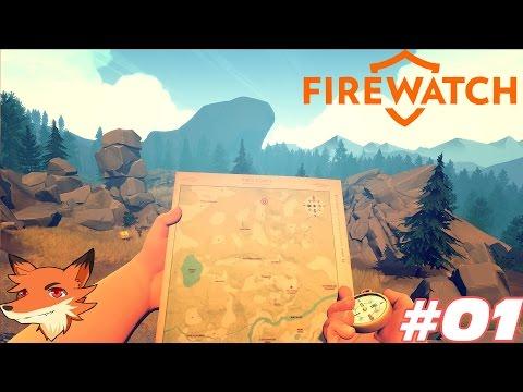 Firewatch - Let's Play #01 Sous-titré en français    Une aventure touchante et magnifique !