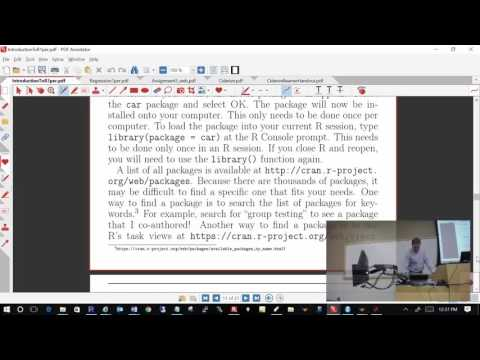 Computing Tools for Statisticians - Class #20 (R)