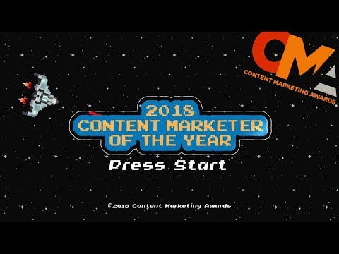 2018 Content Marketing Awards - Content Marketer of the Year