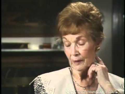 Jewish Survivor Ida Schwarz Testimony