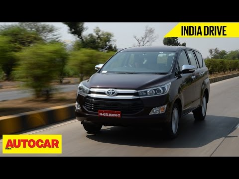 Toyota Innova Crysta | India Drive | Autocar India