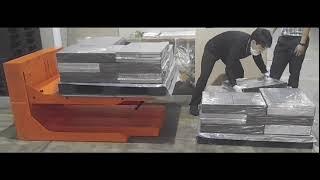 [포장기기] 파레트 적재와 하역 비교 [인간공학적 작업…