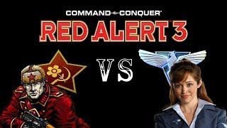 Command & Conquer Red Alert 3: Brutal Lissette VS The Soviets (Skirmish)