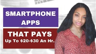 Smartphone Apps - Best Smartphone Apps That Pay Up to $35 An Hour!
