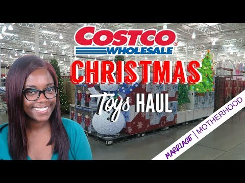 Costco Christmas Toy Haul + Price Comparison with Target and Amazon | Shop with me