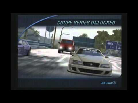 Burnout 3: Takedown - All series (Compact, Muscle, Coupe, Sports, Super)
