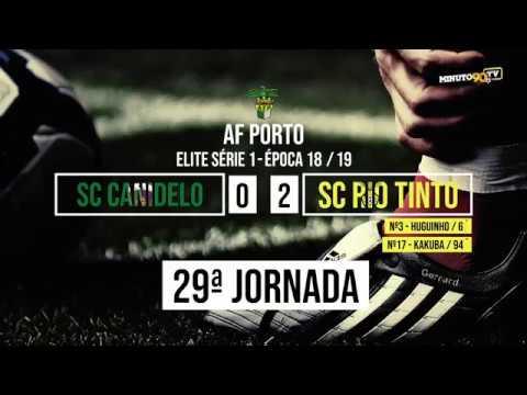 GOLOS - SC CANIDELO 0-2 SC RIO TINTO - MINUTO90 TV