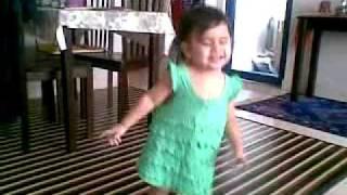 Baby Arabian Dance...mp4